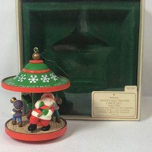 "Hallmark keepsake  ""Santa and friends carousel"""